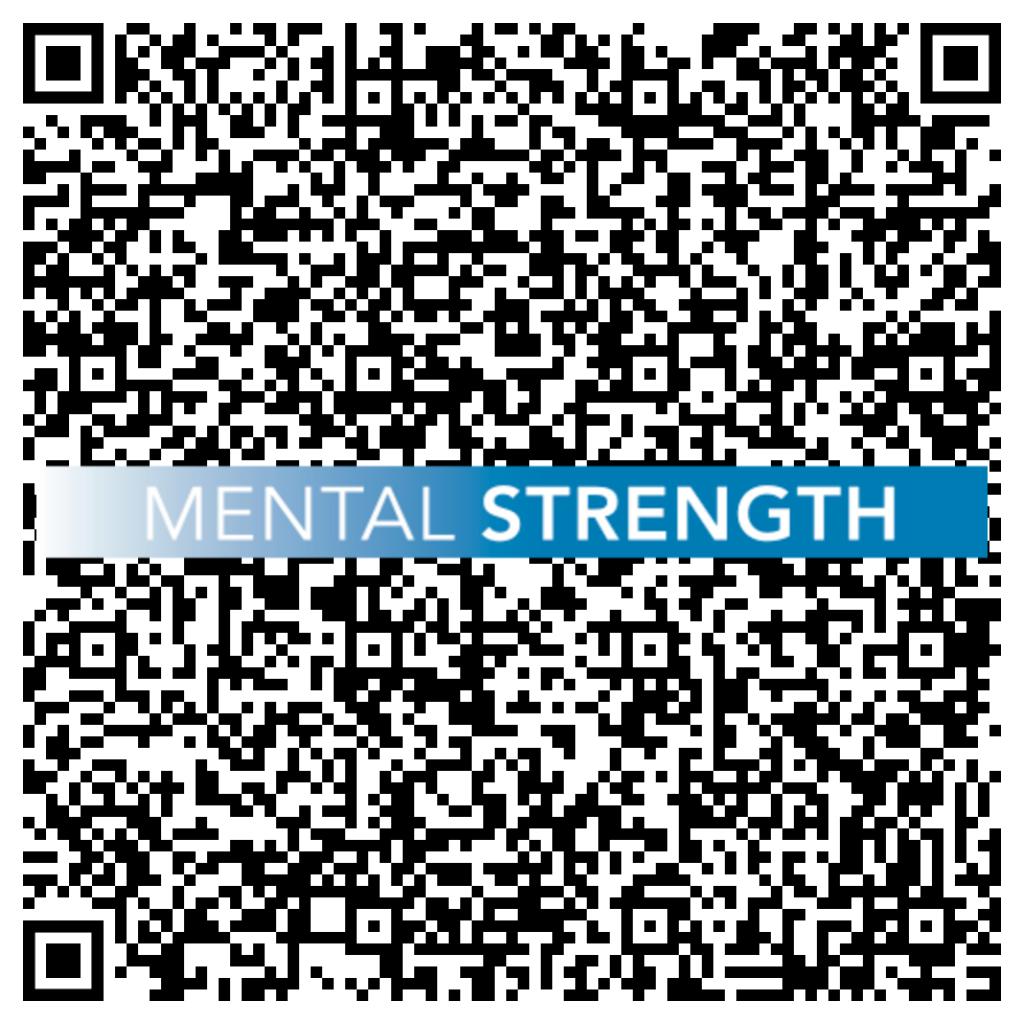 QR Code mit Logo Mental Strength